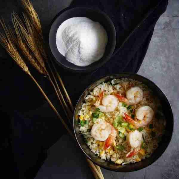 Fried rice with Alchemy Fibre Influencer post by Adam