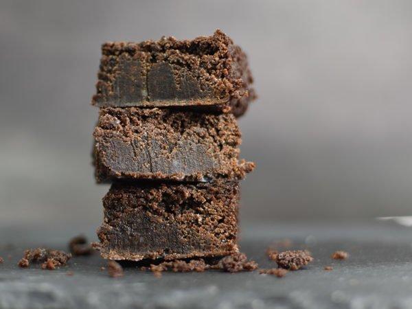 Alchemy Premix Brownies stacked