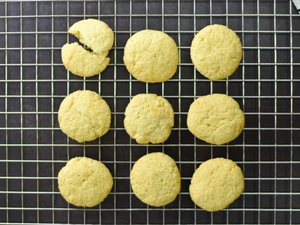 Alchemy Premix Cookies on baking tray