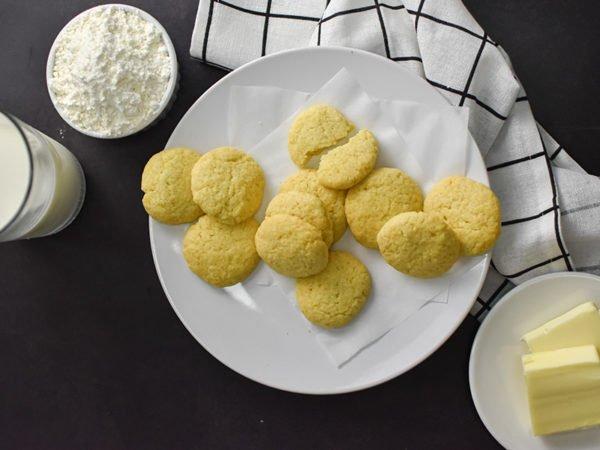 Alchemy Premix Cookies on plate