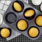 Alchemy Premix Muffins on baking tray