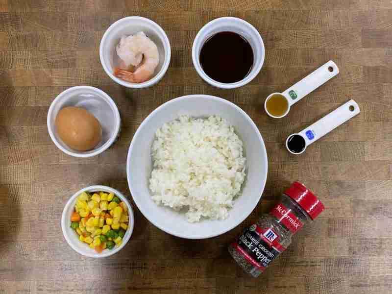 Tom Yum Fried Rice Ingredients