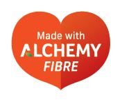 made with alchemy fibre device mark