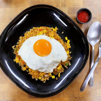 Tom Yum Fried Rice with Egg Recipe Cover