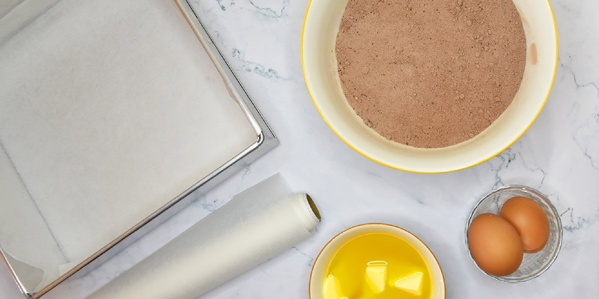 Premix-Ingredient-List-Brownies-Tray-Baking-Papper-Eggs-Butter-Fibre-Powder