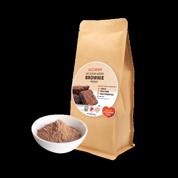 no sugar added brownies premix