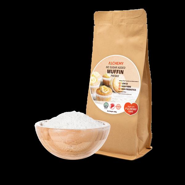 no sugar added muffin premix