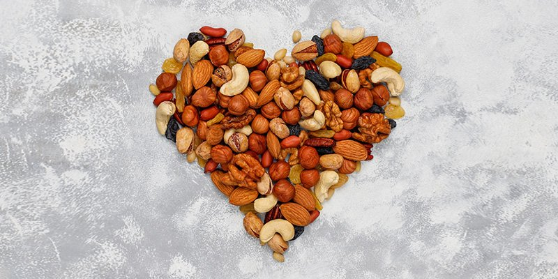 insoluble fibre nuts