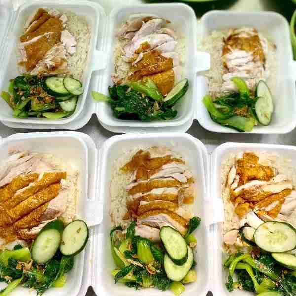 My Kampung alchemy chicken rice pack