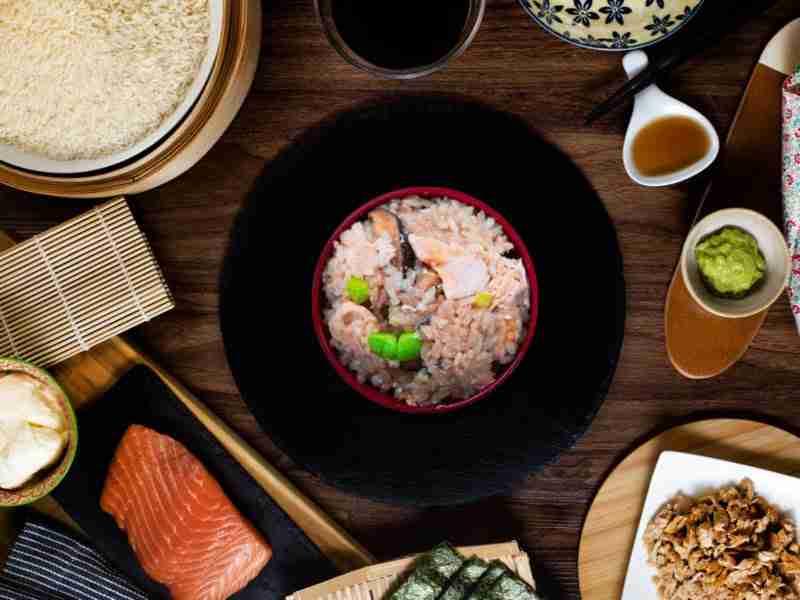 One-PotSalmonKamameshi Recipe