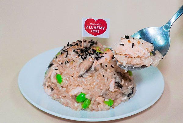 salmon rice