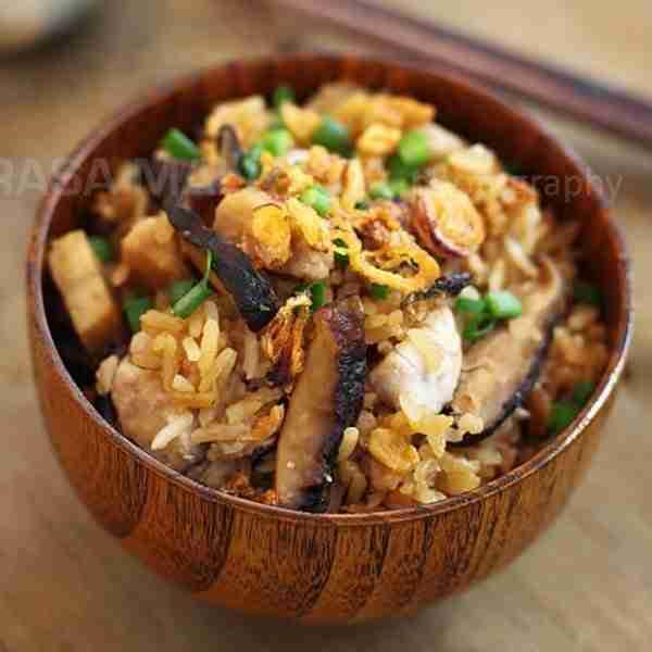 rice cooker yam rice