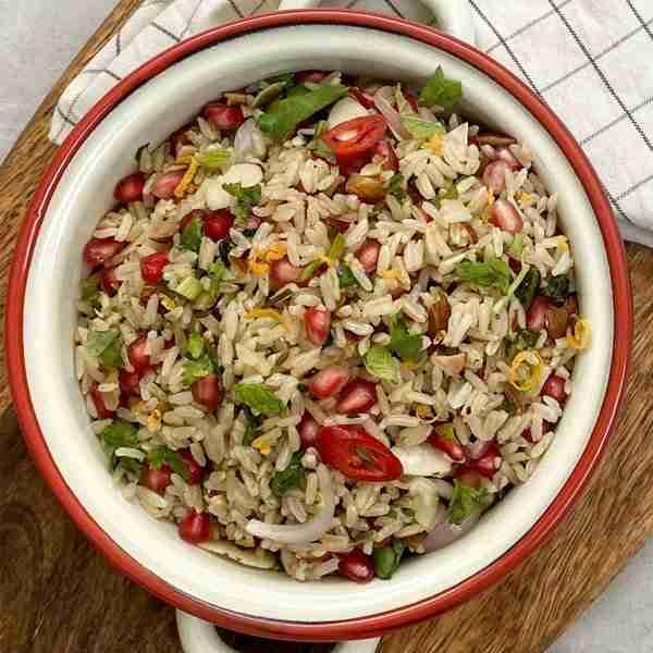 one pot rice salad