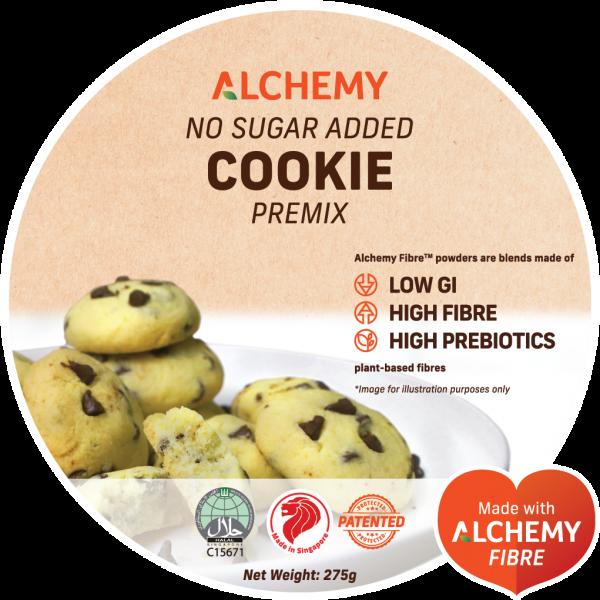 no sugar added cookies premix