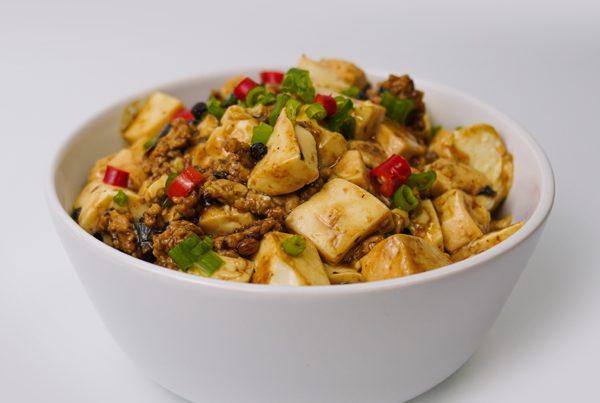 mapo tofu rice